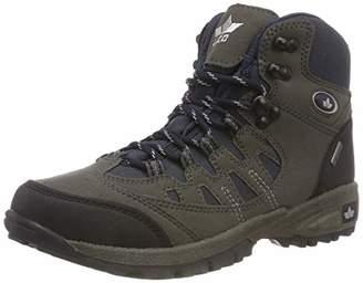 Lico Unisex Adults' Steppe High Rise Hiking Shoes, Blue Marine/Grau