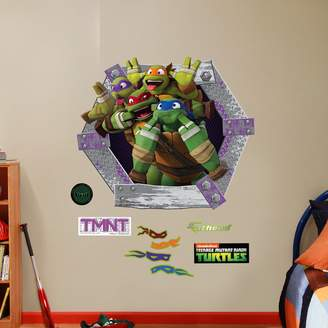 Fathead Teenage Mutant Ninja Turtles Goofy Faces Collection Wall Decals