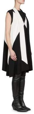 Givenchy Tie-Neck Trapeze Dress