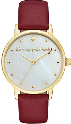 Kick up your heels metro watch $195 thestylecure.com
