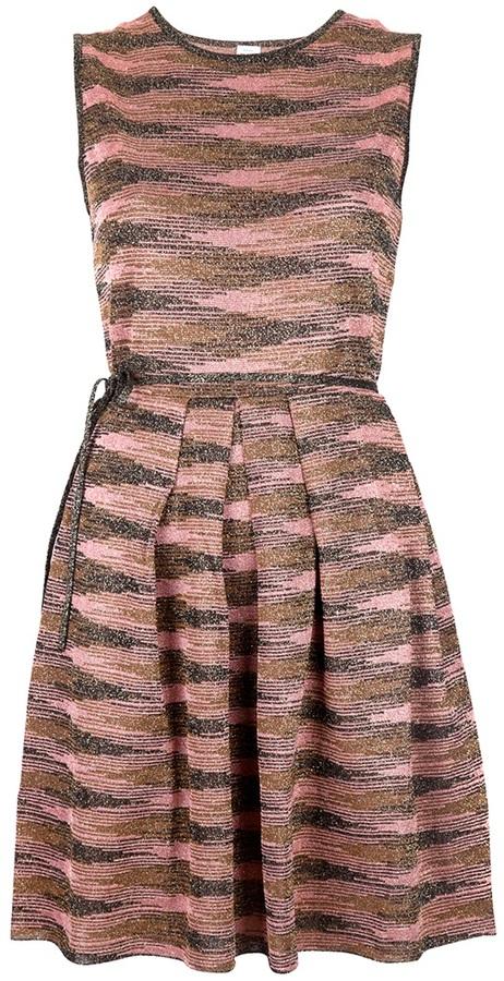 M Missoni sleeveless pleat dress
