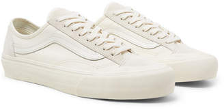Vans 36 Decon Sf Leather-Trimmed Canvas And Suede Sneakers