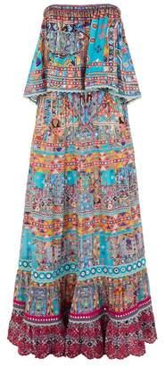 Camilla Canvas of Colour Off-The-Shoulder Maxi Dress