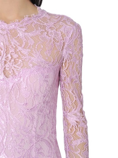 Emilio Pucci Viscose Guipure Lace Dress