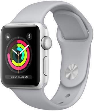 Apple Refurbished Watch Series 3 GPS, 42mm Aluminum Case with Fog Sport Band