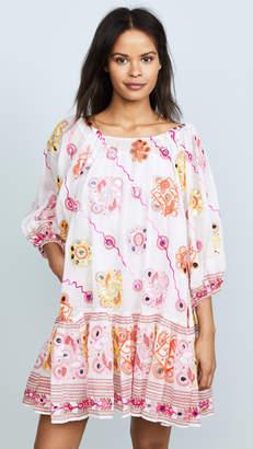 Juliet Dunn Embroidered Dress