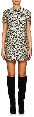 Valentino Women's Leopard Jacquard Shift Dress