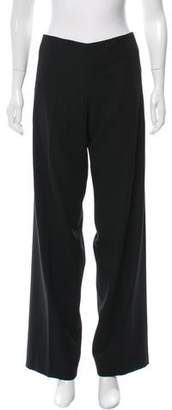 Hussein Chalayan Mid-Rise Wide-Leg Pants