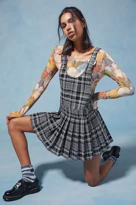 Anna Sui UO Exclusive Plaid Mini Dress