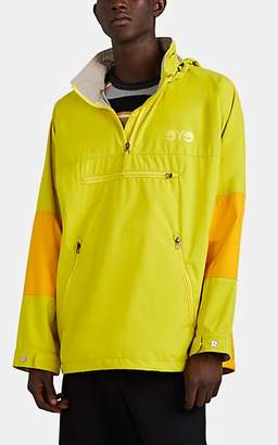 Junya Watanabe Comme des Garçons Men's Colorblocked Ripstop Quarter-Zip Parka - Yellow