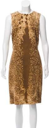 Michael Kors Abstract Shift Dress