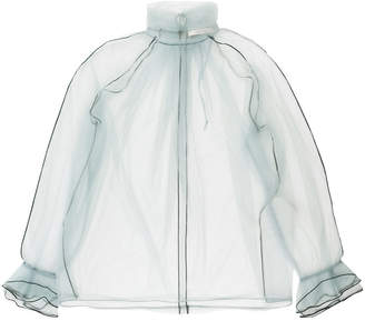 Schumacher Dorothee turtleneck sheer blouse