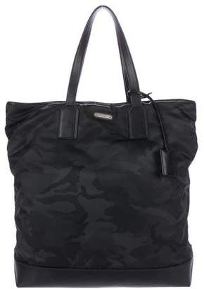 Saint Laurent Camouflage Holdall Bag
