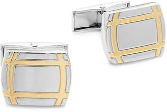 Hickey Freeman Men's Two-Tone Cuff Links