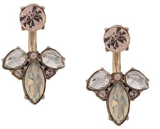 Marchesa crystal pendant earrings