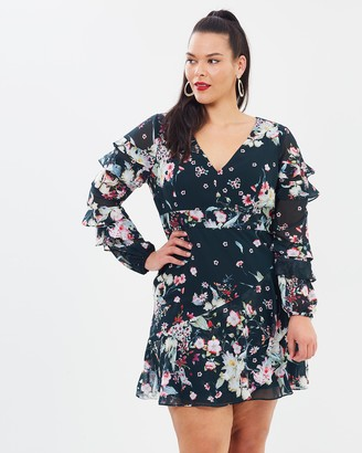 Cooper St CS CURVY Titania Long Sleeve Mini Dress