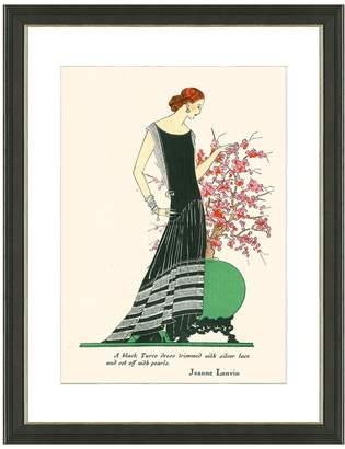 Lanvin Art Source Fashion II (Framed Giclee)