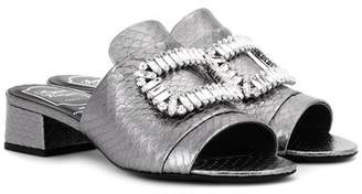 Roger Vivier Exclusive to mytheresa.com – Slipper New Strass sandals