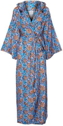 Vetements Floral Kimono Raincoat