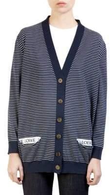 Loewe Stripe Cardigan