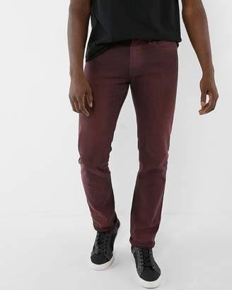 Express Slim Overdyed Stretch Jeans