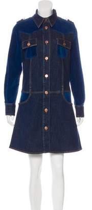 See by Chloe Knee-Length Denim Coat