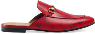 GucciGhost Princetown slipper $595 thestylecure.com