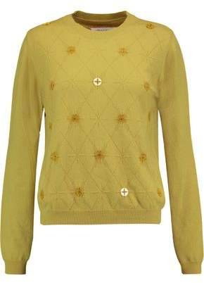 Maison Margiela Button-Embellished Cashmere Sweater