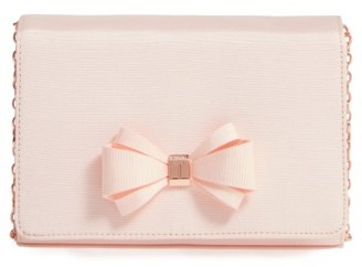Ted Baker London Grosgrain Clutch - Pink $109 thestylecure.com