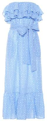 Lisa Marie Fernandez Sabine embroidered cotton dress