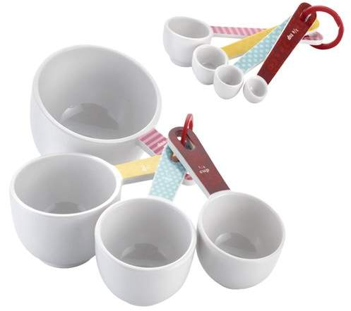 Cake Boss 8-Piece Measuring Cup and Spoon Set