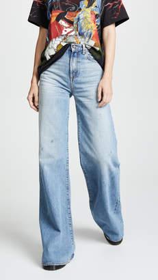 R 13 Raegan Wide Leg Jeans