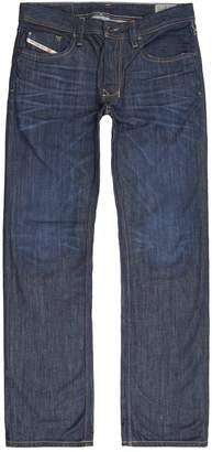 Diesel Straight Mid-Wash Jeans