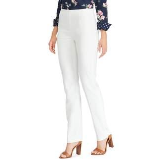 Chaps Women's Straight-Leg Pull-On Pants