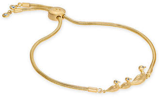Kate Spade Gold-Tone Duck Slider Bracelet