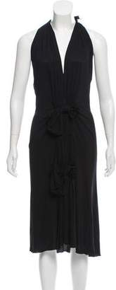 Christian Dior Sleeveless Midi Dress