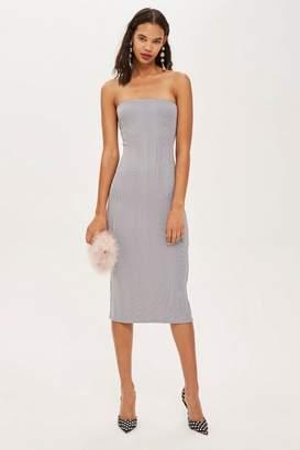 Topshop Bandage Midi Bandeau Dress