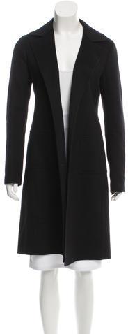 AgnonaAgnona Cashmere Open Front Coat