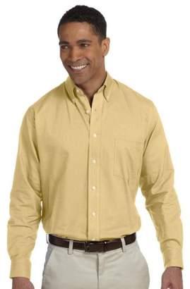 Van Heusen Mens Dress Shirts Regular Fit Oxford Solid Button Down Collar