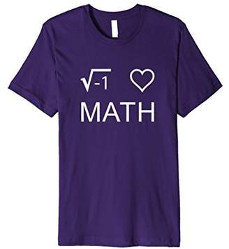 I Love Math Witty Square Root Math T Shirt