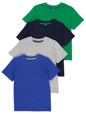 Assorted T-Shirt 4 Pack