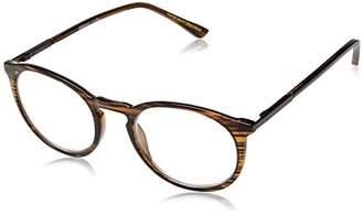Foster Grant Unisex-Adult McKay Multifocus Glasses 1018255-150.COM Round Reading Glasses