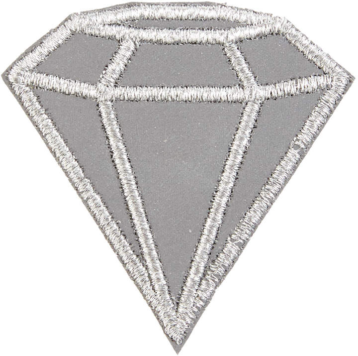 Alternative Apparel Tulipcake Diamond Reflective Patch