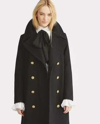Ralph Lauren Double-Breasted Wool Coat