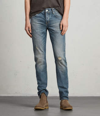 AllSaints Iowa Reed Straight Jeans