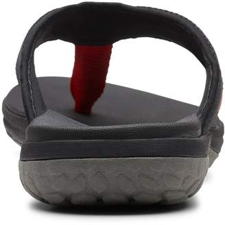 Clarks Step Beat Dune Sandal - Black
