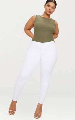 PrettyLittleThing Plus Black Skinny Jeans