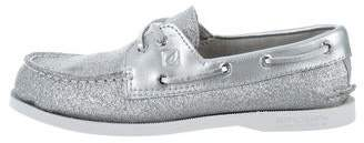 Sperry Glitter Boat Shoes