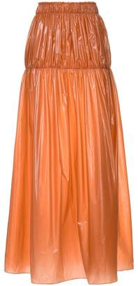 Ellery Isolation gathered yoke skirt