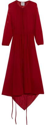 Vetements - Stretch-jersey Midi Dress - Red $1,635 thestylecure.com